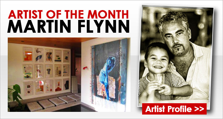 Artist of the month : Martin Flynn